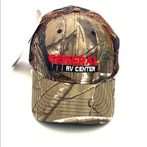 General RV Realtree Snapback Trucker Style Hat
